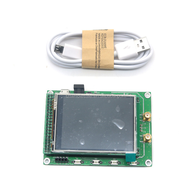 STM32 TFT Touch LCD New ADF4351 RF Sweep Signal Source Generator Board 35M-4.4G