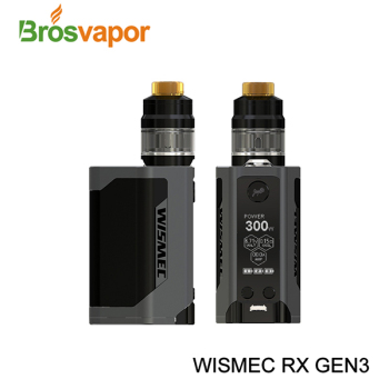 Latest Wismec Reuleaux RX GEN3 with Gnome Kit
