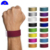 Custom Disposable tyvek dupont paper wristbands with stub for festival events and amusement park ticket ,tyvek wristband roll