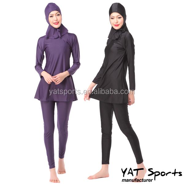 Commercio all 39 ingrosso islam musulmano costume da bagno vestiti delle donne swimwear musulmano - Costumi da bagno all ingrosso ...