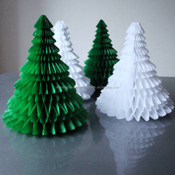 green white paper tabletop christmas tree honeycomb balls decorations christmas honeycomb tissue paper eco christmas tree view larger image