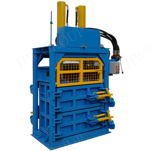 Mini model hydraulic carton compress baler machine single phase compress baler machine