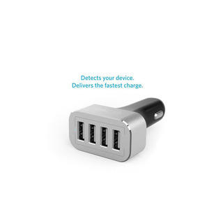 2016 Newest DC 5V 9.6A 4 Port USB Car Power Adapter Portable Charger
