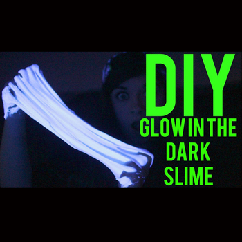 Diy how to make slime with kids glow in the dark slime making kit diy how to make slime with kids glow in the dark slime making kit ccuart Gallery