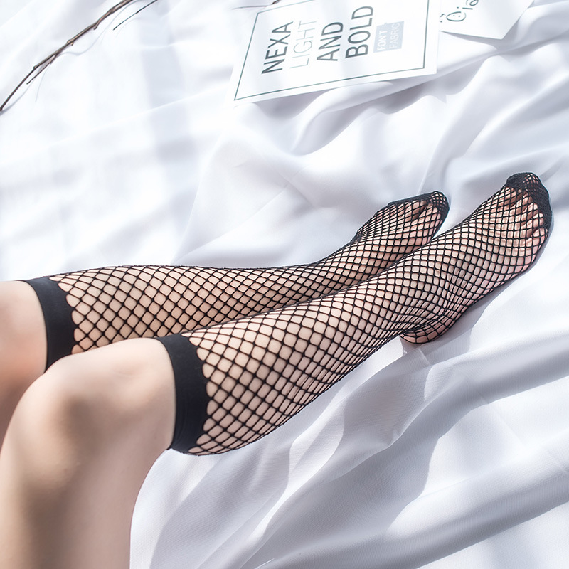 Nude girls in fishnet stockings — pic 12