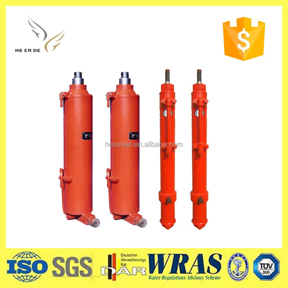 Multistage Front End Loader Hydraulic Cylinder for Highway Transportation