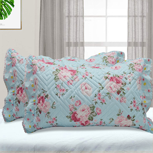 Middle East Style Luxurious Quilted Printed Pillow Cover With Amazing Craftsmanship