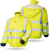 wholesale manufacturer High visibility safety work reflective jacket, Custom reflective jackets
