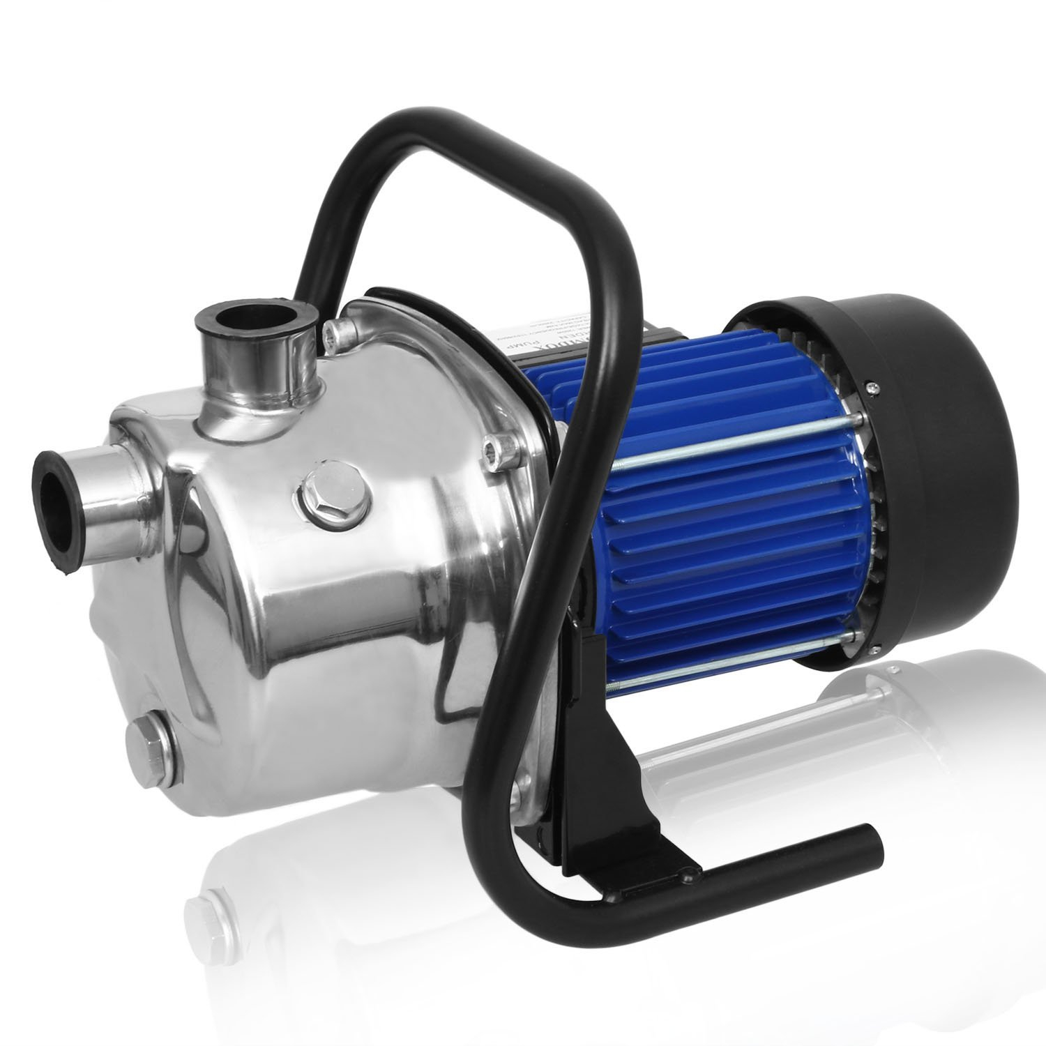 1.6HP Booster Pump ,Stainless Shallow Well Pump Lawn Sprinkling Pump, Automatic ON/OFF Pool Water Cover Pump for Home Garden Irrigation Water Supply