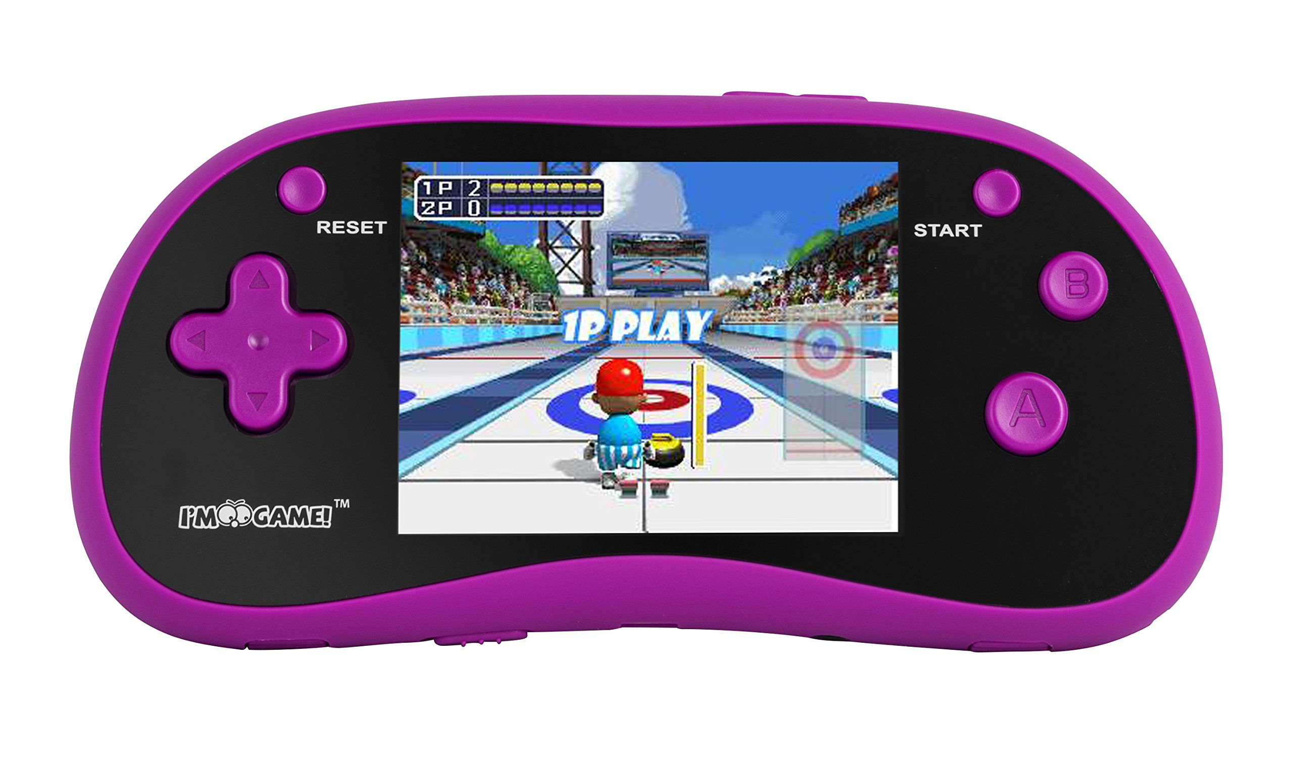 "I'm Game 180 Games, Handheld Game Player with 3"" Color Display Pink"