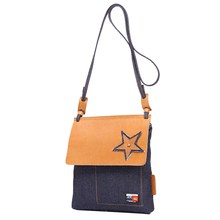 YD-2288-1 simple design wholesale price sling jean denim bags for women shoulder bag crossbody