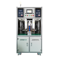 precise battery cell pack making machine