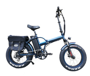 36V/48V 10AH Lithium Battery Bafang 250W/500W Fat Tyre Folding Electric Bike With CE Certificate