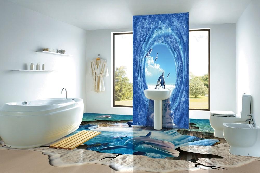 Hs3955 3d suelo precios 3d porcelana barato azulejos pisos for Suelos en 3d precios