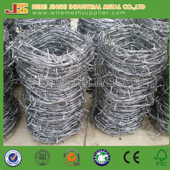 14 Gauge Barbed Wire weight per roll