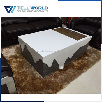 Latest Exclusive Artificial Marble Stone Center Table