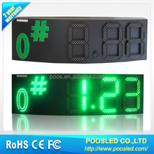 7 segment led gas price board \ advertise gas stations \ gas price station display
