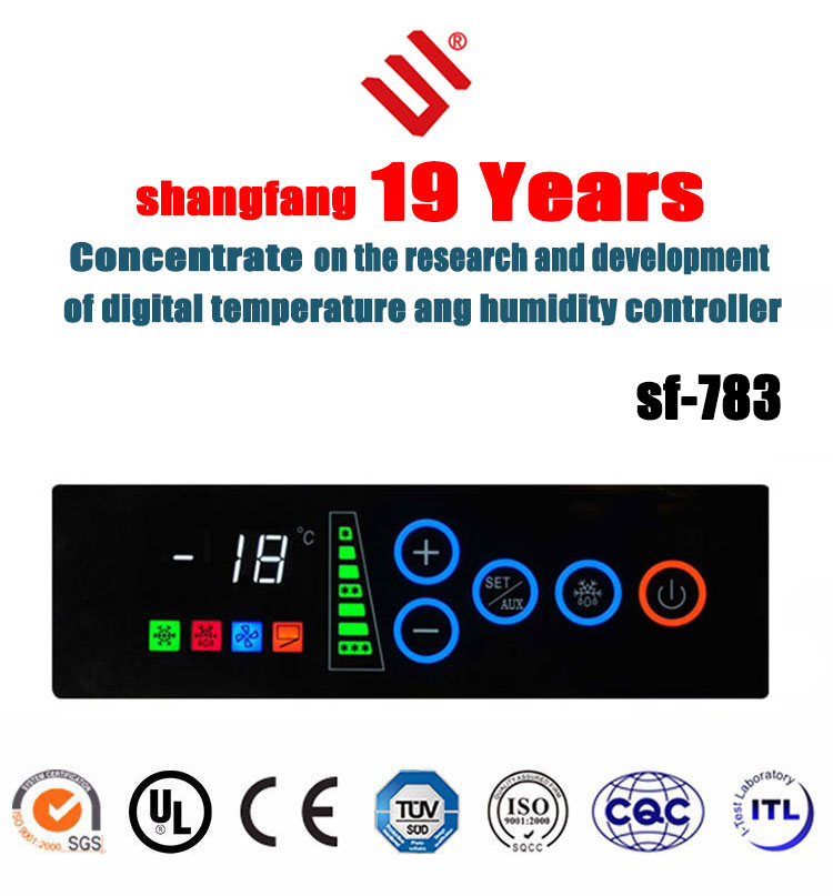 digital chiller temperature controller with timer