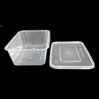 disposable food packaging 1000ml food storage packaging