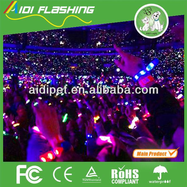 Computer Controlled Led Wristband / Remote Controlled Led ...