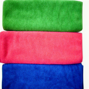 Custom coral fleece terry cloth towels polyester disposable hand christmas hand towels kitchen towel