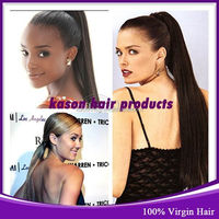 Ali Trading Company Good Feedback Kason Hair Malaysian Loose Wave Natural Hair Ponytail Styles Weave
