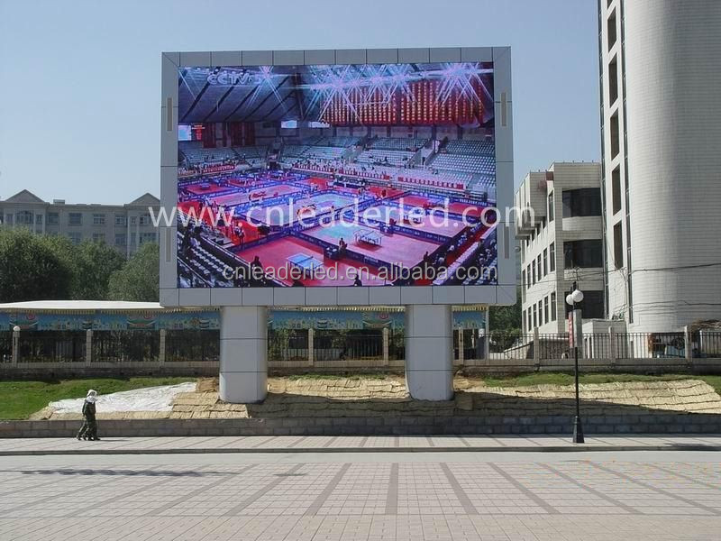 graphics and animation,Text message Display Function and 7.62mm , 8mm Pixels p8 outdoor full color led display