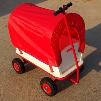 Carro Carro Ninos Festival Jardin Carro Juguetes Juegos Rojo Tire