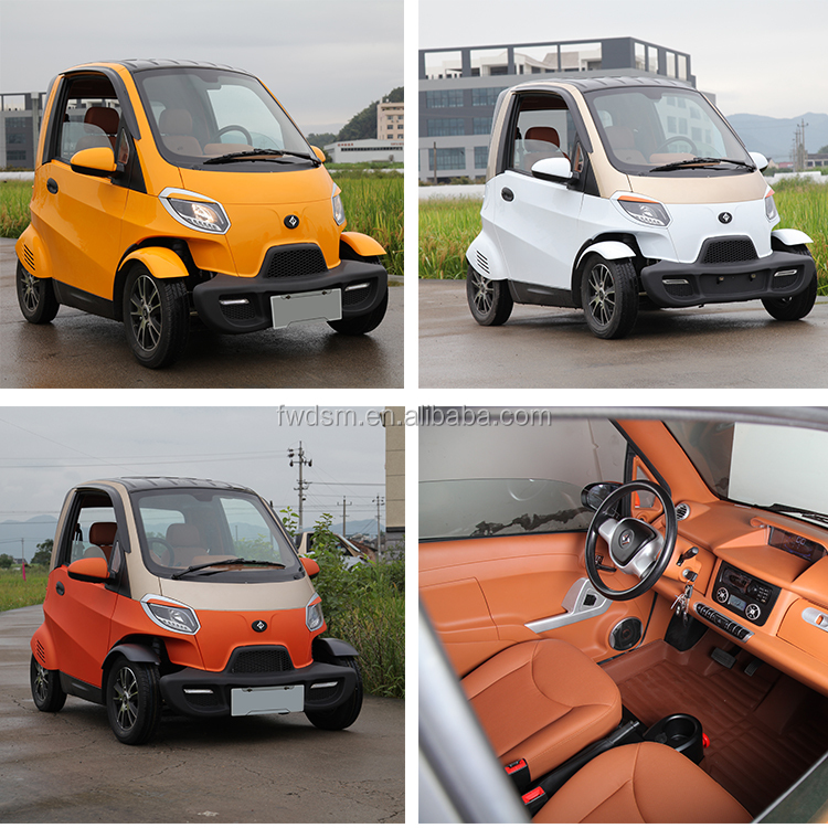 3000W Motor Mini Electric Car For Family Use