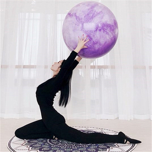 PVC colorful fitness gym ball yoga, non-toxic exercise ball, inflatable gymnastic ball