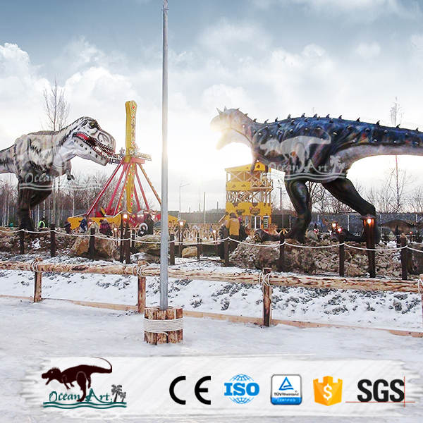 OAZ3086 Outdoor Amusement Park High Quality Giant Dinosaur Model