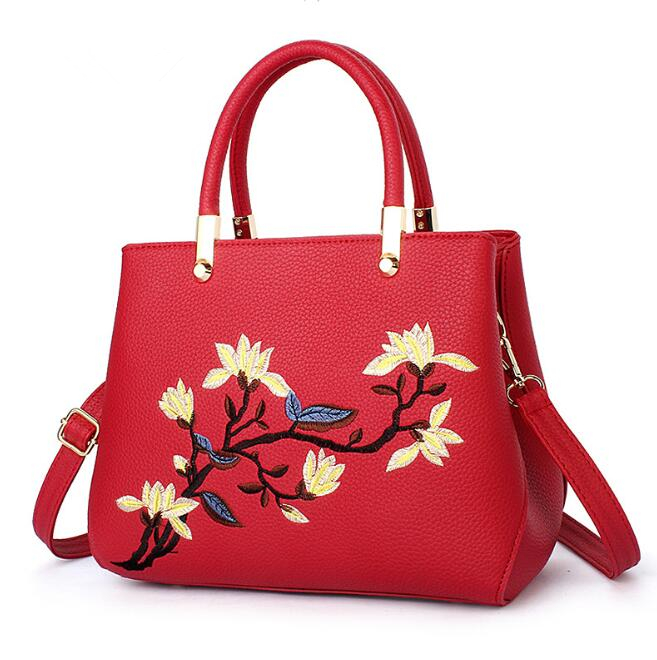 zm53614a Wholesale women bags handbag flower embroideried tote china