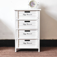 2017 Low price 4 drawers wooden storage cabinet/furniture cabinet