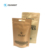 1/4oz Kraft paper Food packaging bag manufacturer with Perspective window