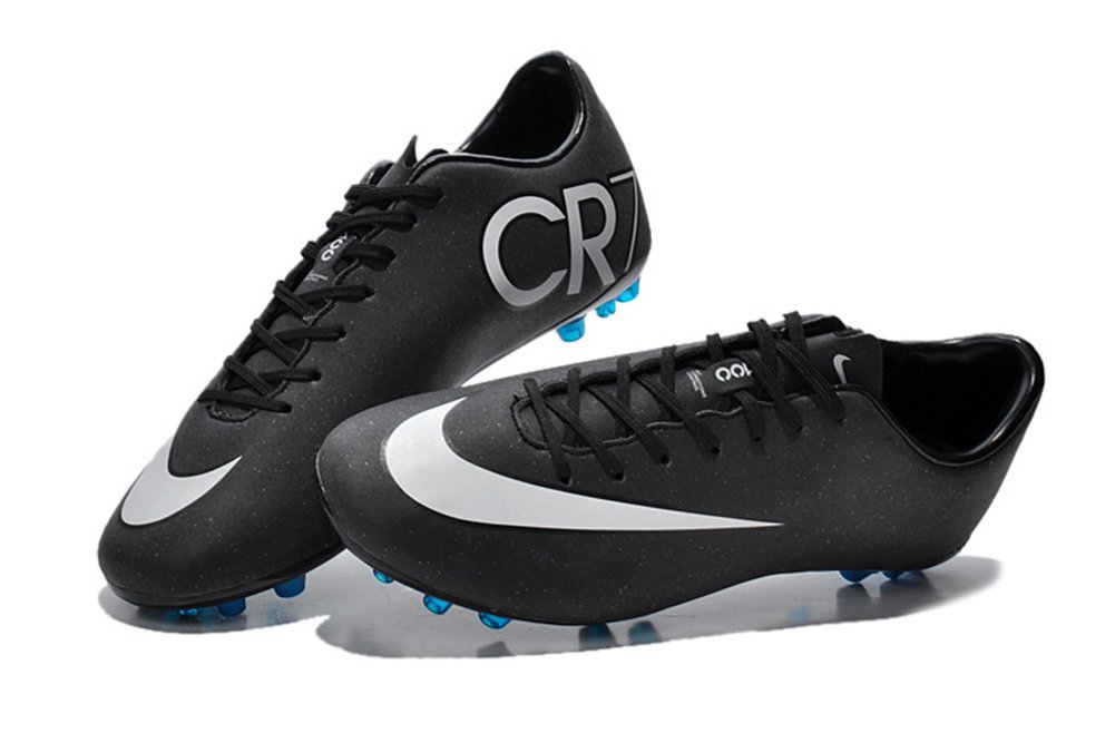Get Quotations · Lissay Shoes Mens Black Mercurial Vapor Superfly IIII vapor  X AG Football Soccer Boots 103fb25c784a