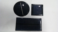 small size 2V 1W 3W 5W mini epoxy solar panels/ solar cells for solar gutter lights PET solar panel for DIY 0.5w solar batteries
