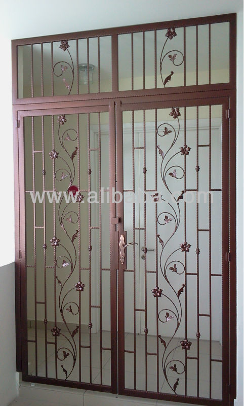 Wrought Iron Door Grill Modern Grills Galvernized Product On Alibaba