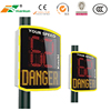 Outdoor Activates Customized Electronic Digital Radar LED Speed Limit Sign