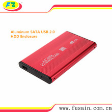 Destop/Laptop 2.5 USB2.0 <span class=keywords><strong>SATA</strong></span> <span class=keywords><strong>HDD</strong></span> Enclosure Per Hard Disk