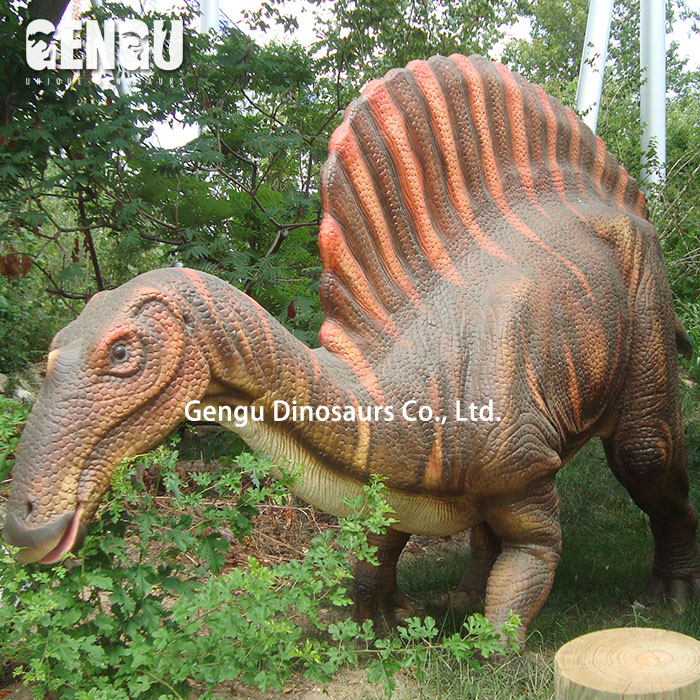 Amusement Park High Simulation Brightly Colored Dinosaurs