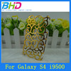 For S4 Cases Wholesale! Retro Palace Hollow Flower Protective Case for Galaxy S4 i9500