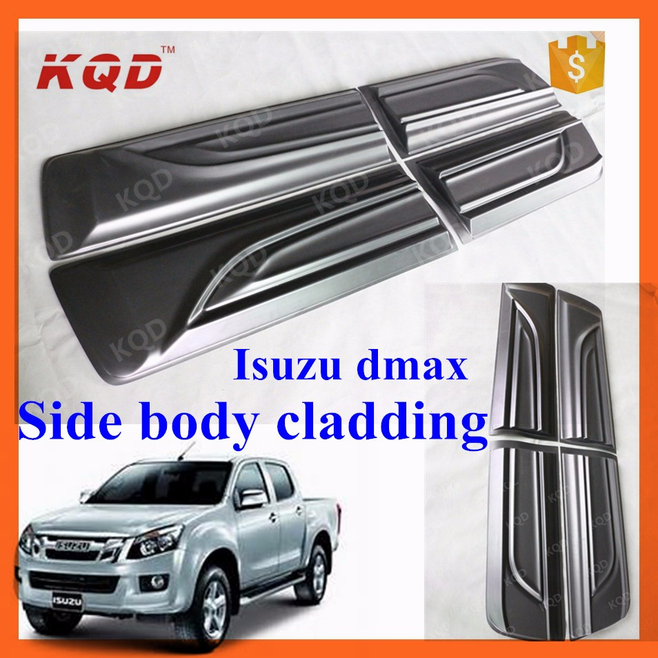 D Max 4x4 Accessories Side Body Cladding For D Max Body ...