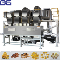 Series Of Hot Air Puffer Roaster For Popcorn Corn Flakes Shrimp 3d 2d Snack Pellet