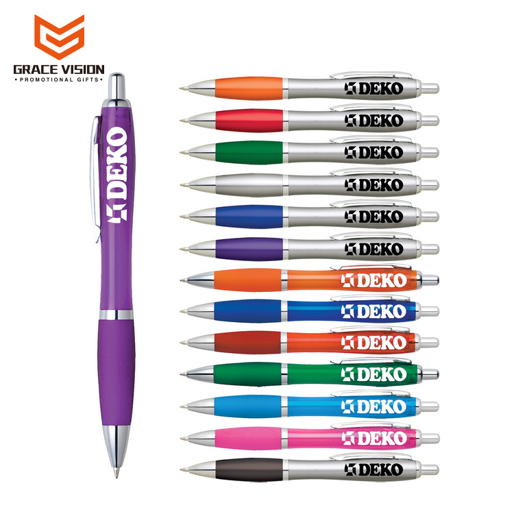 Promotional Cheap Custom Logo Printed Plastic Ball Pen Ballpoint Pen