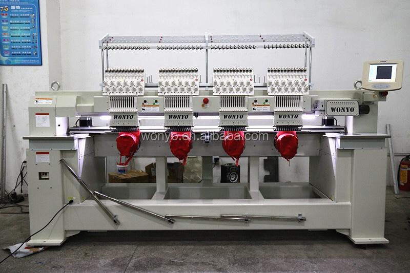 Tajima máquina de bordado 4 cabezas Industrial máquina de bordado para  tapa T camisa WY1204C c0603f4706a