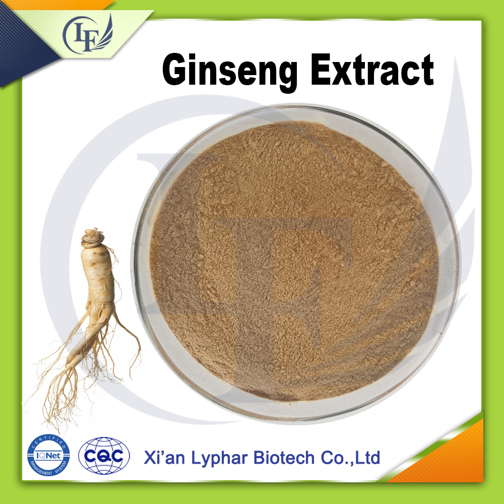 100% Natural and High Quality Panax Ginseng Extract Powder