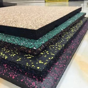 Eco-friendly Recycled Odourless Rubber Flooring