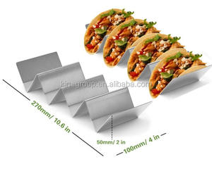 For Dinning Taco Holder Stand, Taco Truck Tray Style, Rack Holds