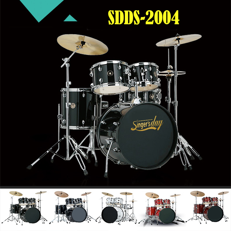 Singer's day Accept OEM Professional Musical Insturments Drum Kits/Acoustic Drum Set