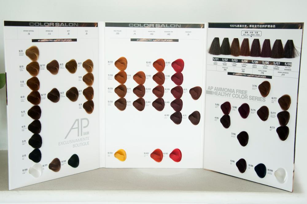 Asian Professional Hair Dye Color Design Iso Hair Color Chart Buy